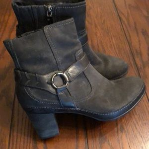 Clark's Indigo black leather Boots